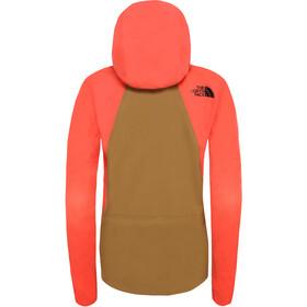The North Face Purist Jacket Dame Radiant Orange/British Khaki